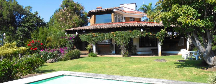 Properties archivo p gina 16 de 20 casas tepoztl n for Casas con terraza y jardin