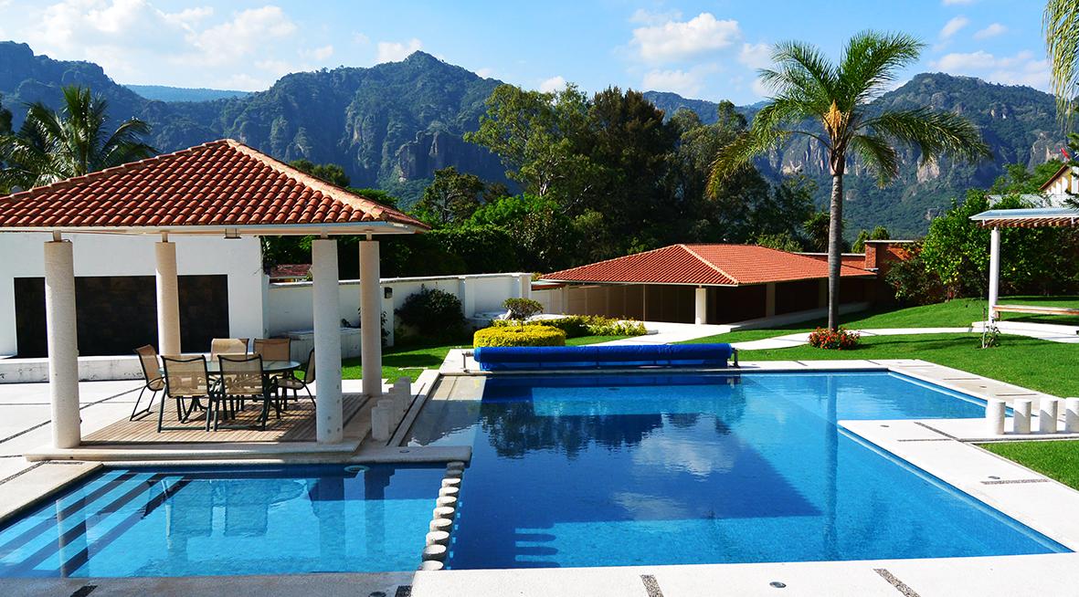 Construir la casa ideal en tepoztl n casas tepoztl n for Casa con piscina para alquilar