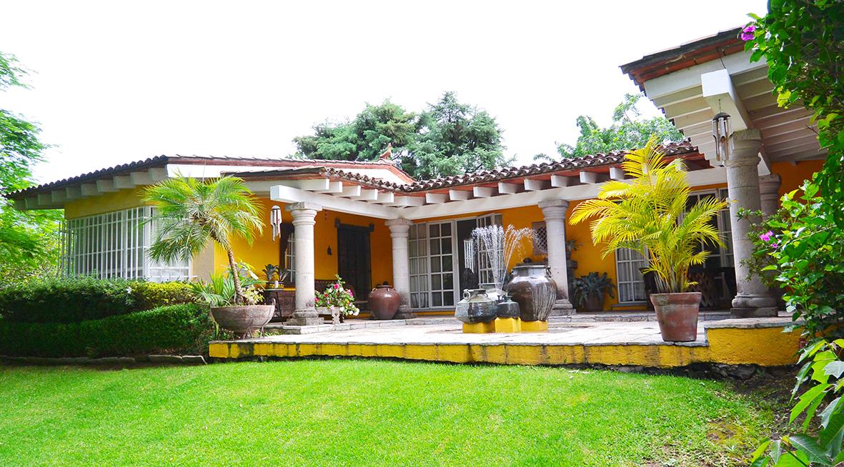 Casa en renta en el bosque tepoztlan jardin estudio - El jardin en casa ...