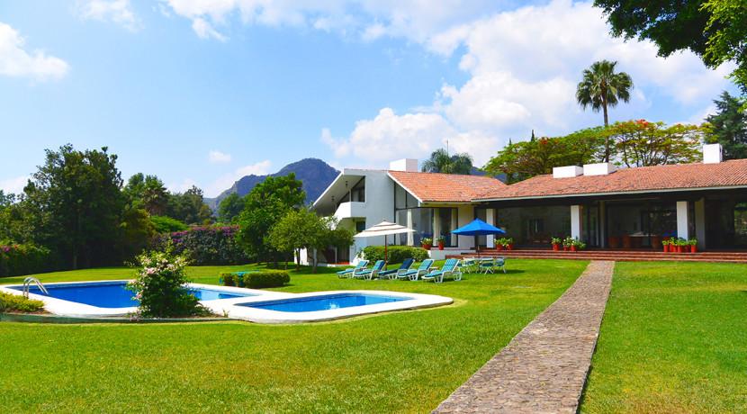 Villa mar a casas tepoztl n bienes ra ces venta - Casas con jardines bonitos ...