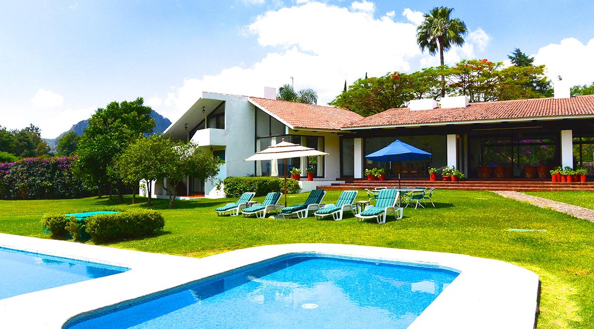 Casa en renta vacacional descanso vacaciones alquiler fin for Casas de campo en alquiler