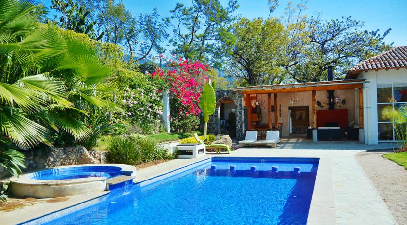 Villa catalina casas tepoztl n bienes ra ces venta for Alquiler vacacional de casas con piscina en sevilla